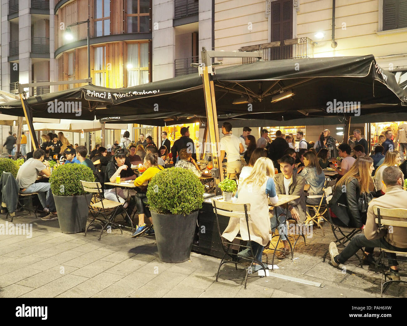 Aperitivo Milan Stock Photos Aperitivo Milan Stock Images
