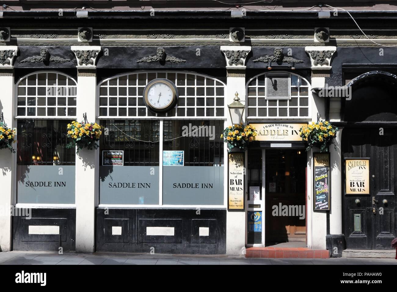 02622ac84ef LIVERPOOL, UK - APRIL 20: Saddle Inn pub on April 20, 2013 in
