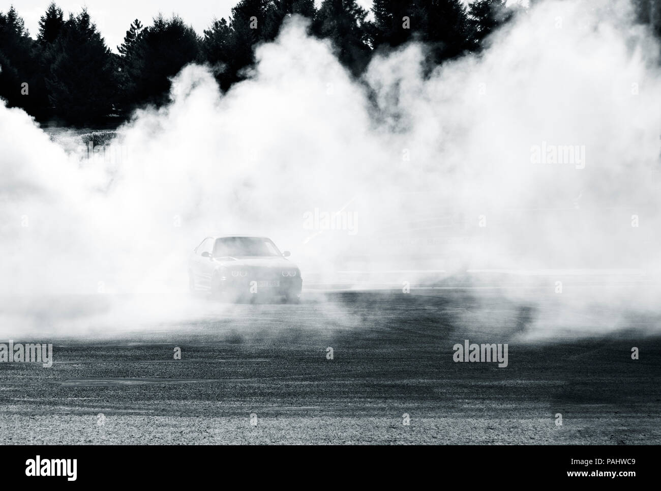 Muscle Car Drifting Stock Photos Muscle Car Drifting Stock Images