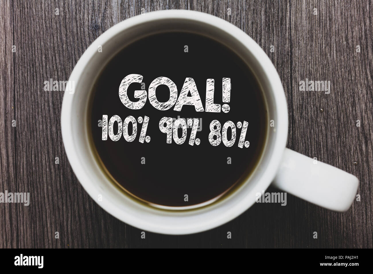 Text 80Business Word 100 Writing Goal Concept For 90 Percentage Of j3L4R5Aq