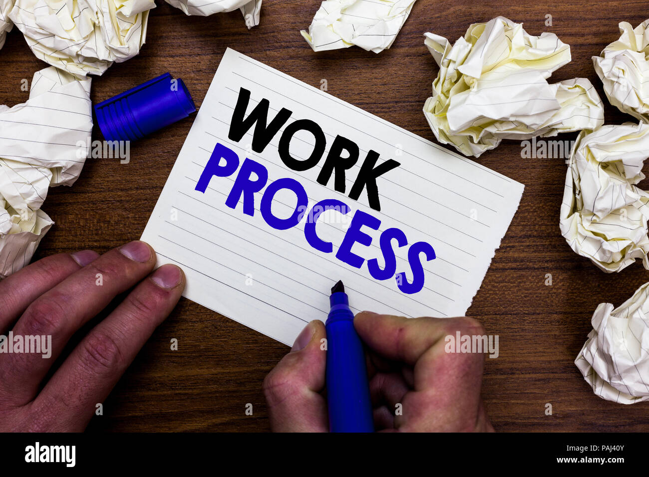 how to write a process note