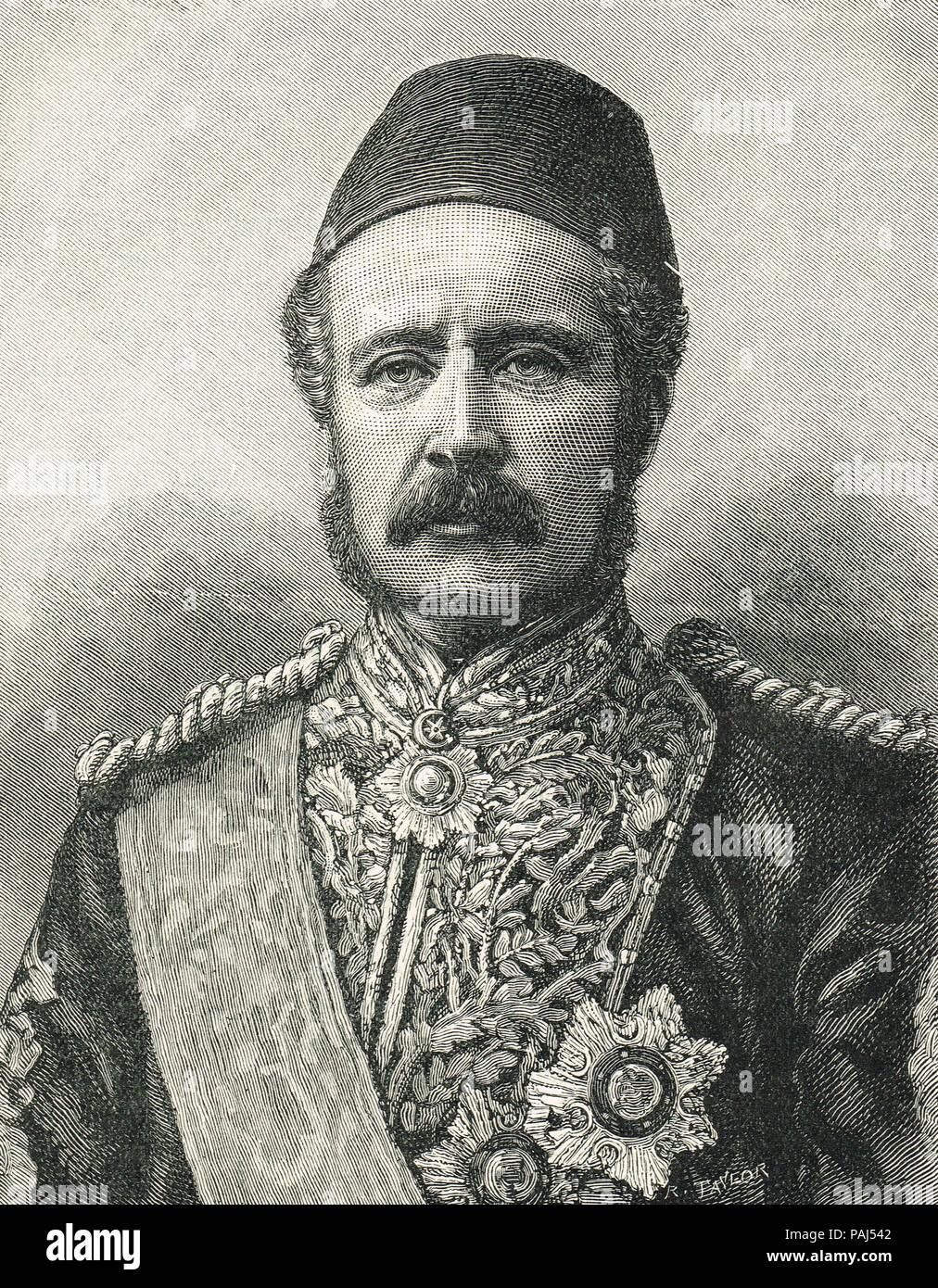 General Gordon, Gordon of Khartoum, 1833-1885 - Stock Image