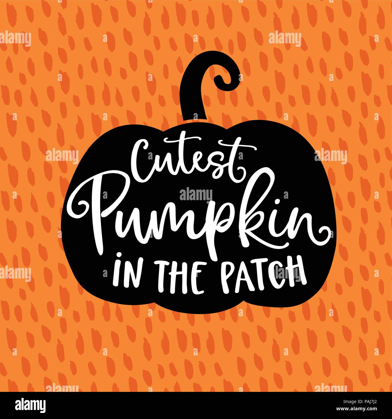 Cutest Pumpkin In The Patch Cute Halloween Party Card