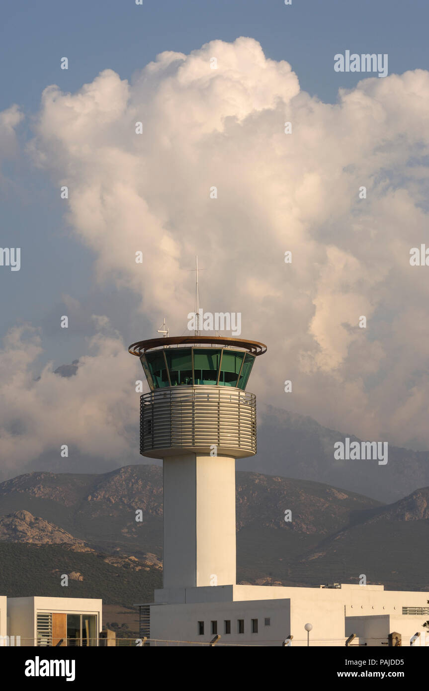 air traffic control-tower Stock Photo
