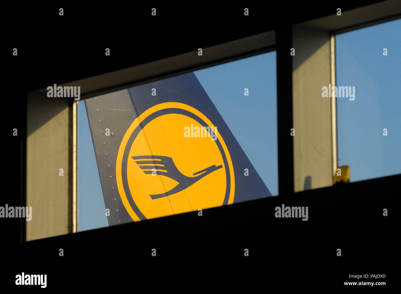 Giuseppe Bonomi, President and CEO of SEA Aeroporti di Milano; August Wilhelm Henningsen, CEO & Chairman of the Executive Board of Lufthansa Technik a - Stock Image