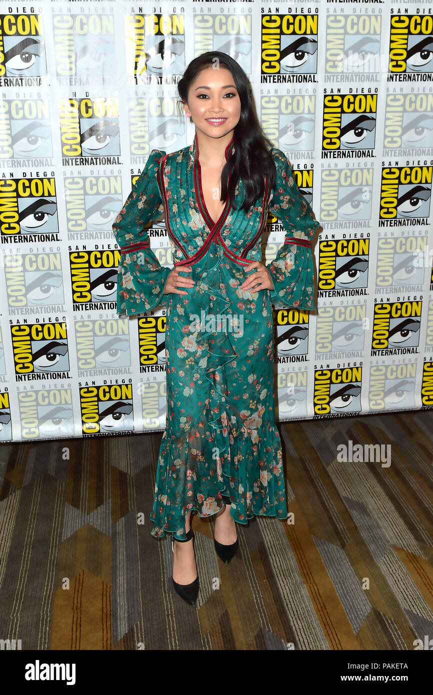 Lana Condor at the Photocall for the Syfy TV series 'Deadly
