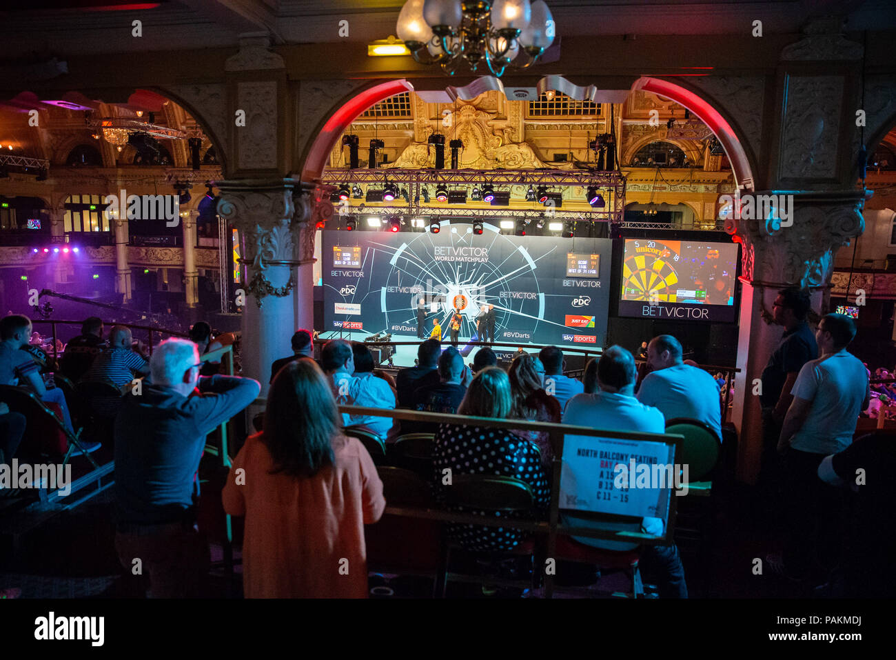 Winter Gardens Blackpool Uk 24th July 2018 Betvictor