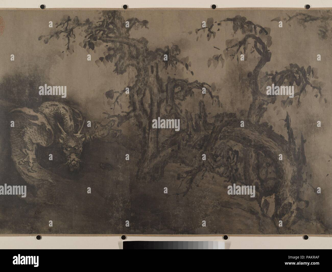 Dragons and Landscape  Artist: Unidentified Artist Chinese