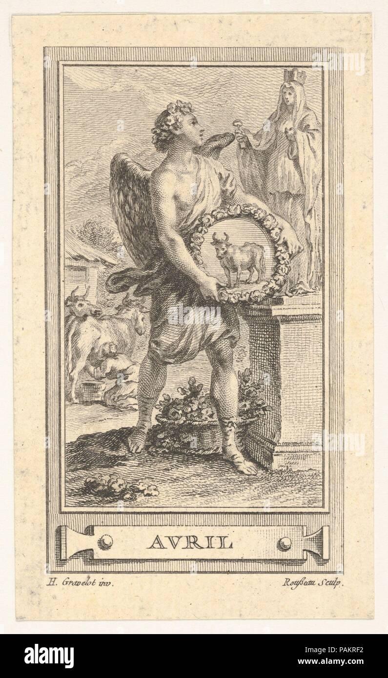 Artist: After Hubert François Gravelot (French, Paris 1699-1773 Paris).  Dimensions: sheet: 4 5/16 x 6 1/2 in. (11 x 16.5 cm). Date: 18th century.