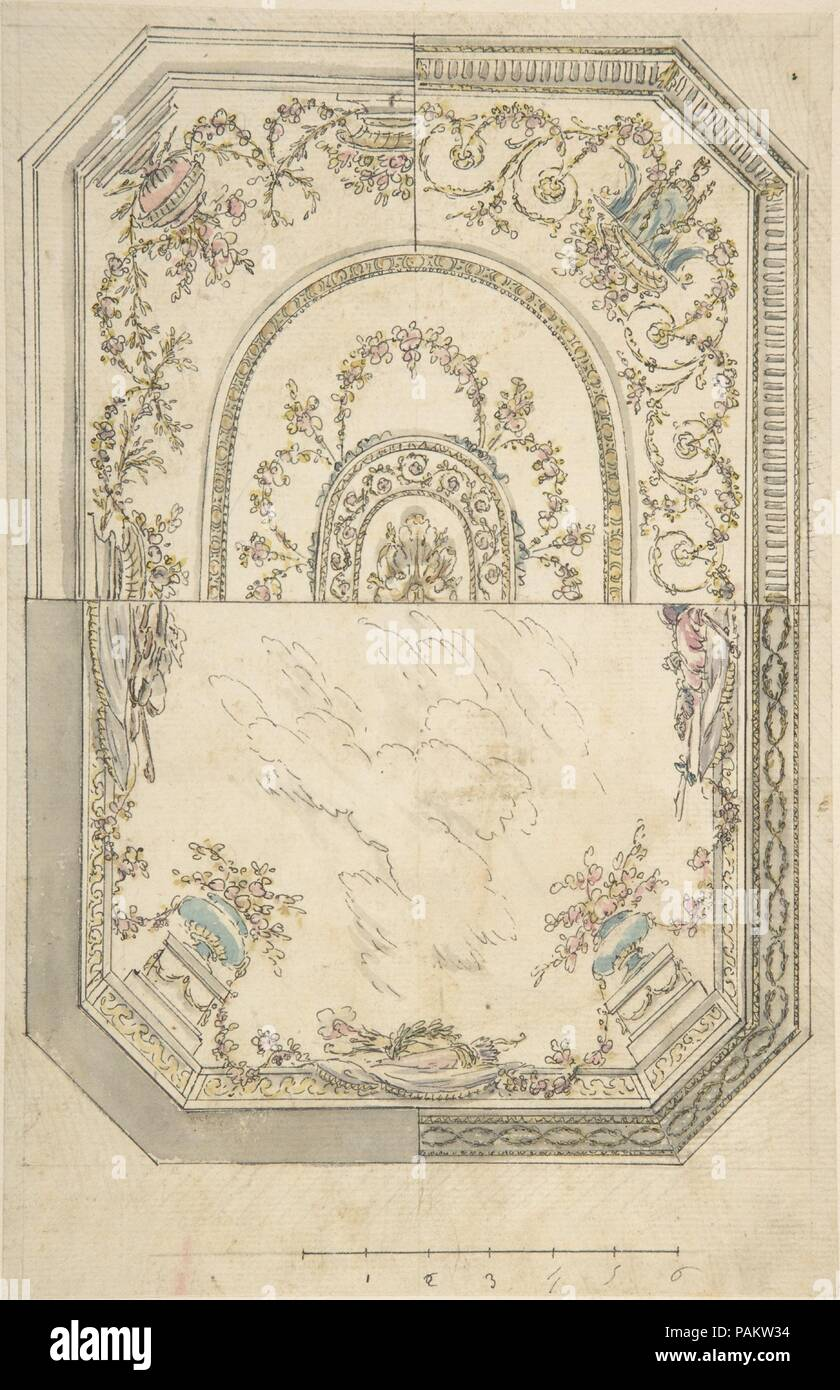 Au Choix Design For A Ceiling Artist Anonymous Italian First