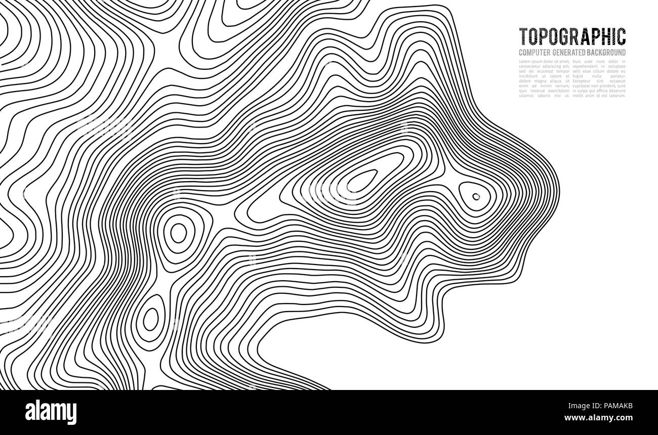 Topographic Map Mountain.Topographic Map Contour Background Topo Map With Elevation Contour