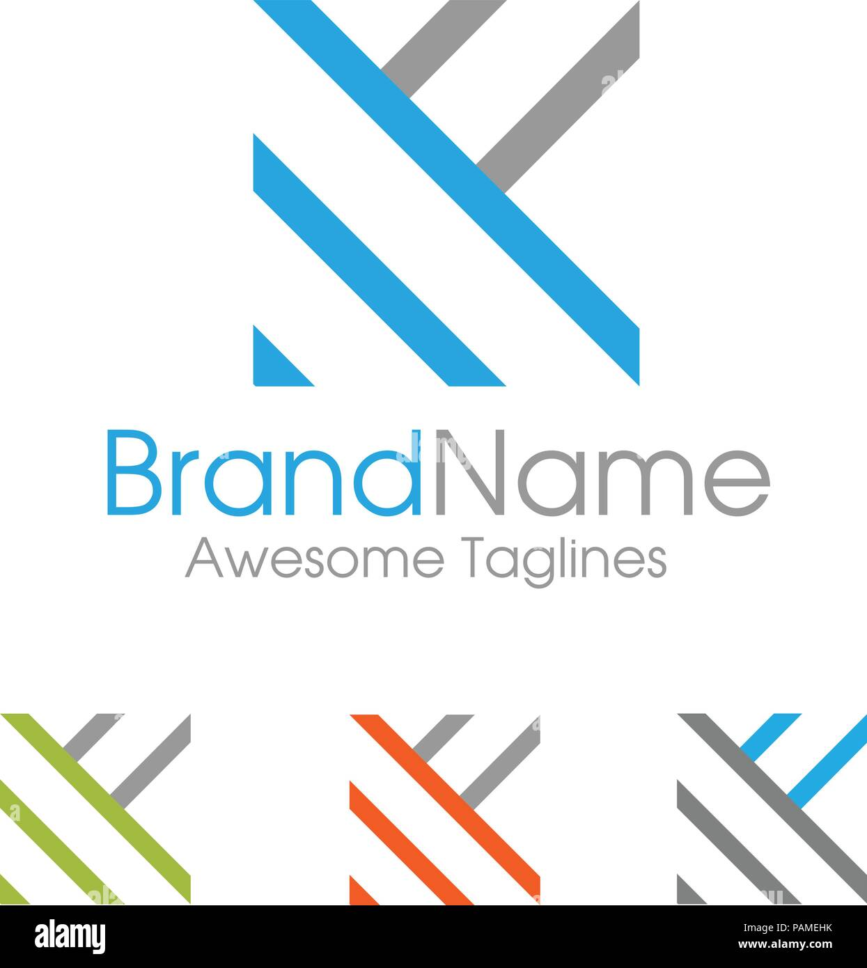 letter k logo simple design template business corporate letter k logo square shape