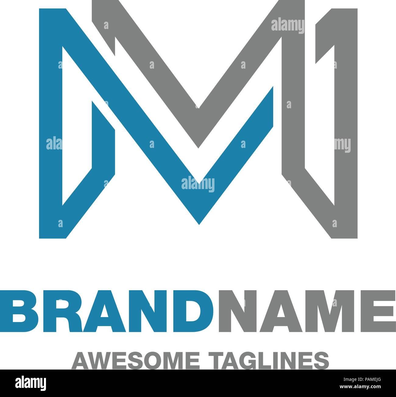 Letter M Logo Stock Photos & Letter M Logo Stock Images