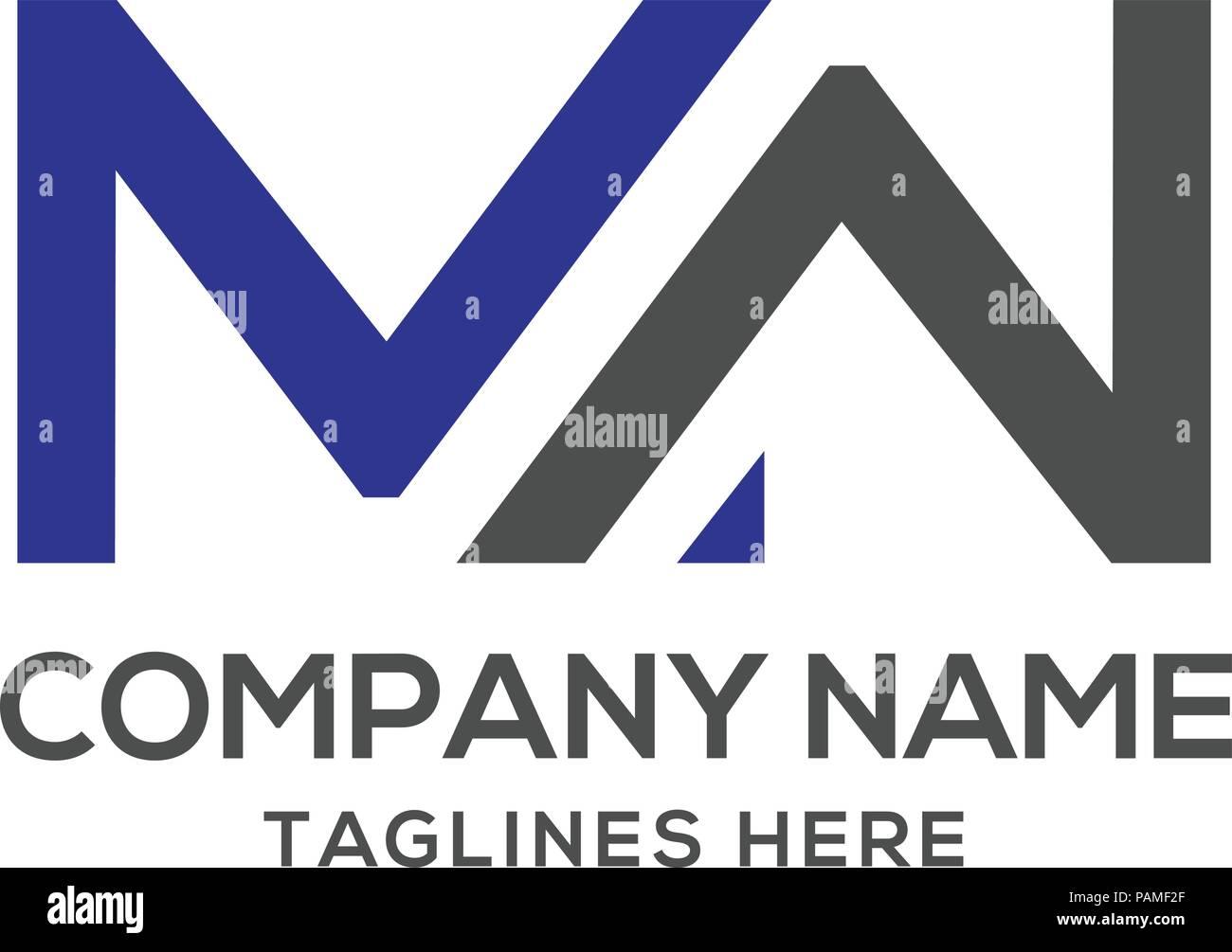 mw letter logo design vector illustration template m letter logo