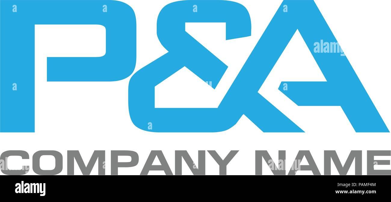 pa letter logo design vector illustration template p letter logo vector letter p and a logo vector creative letter pa letter logo