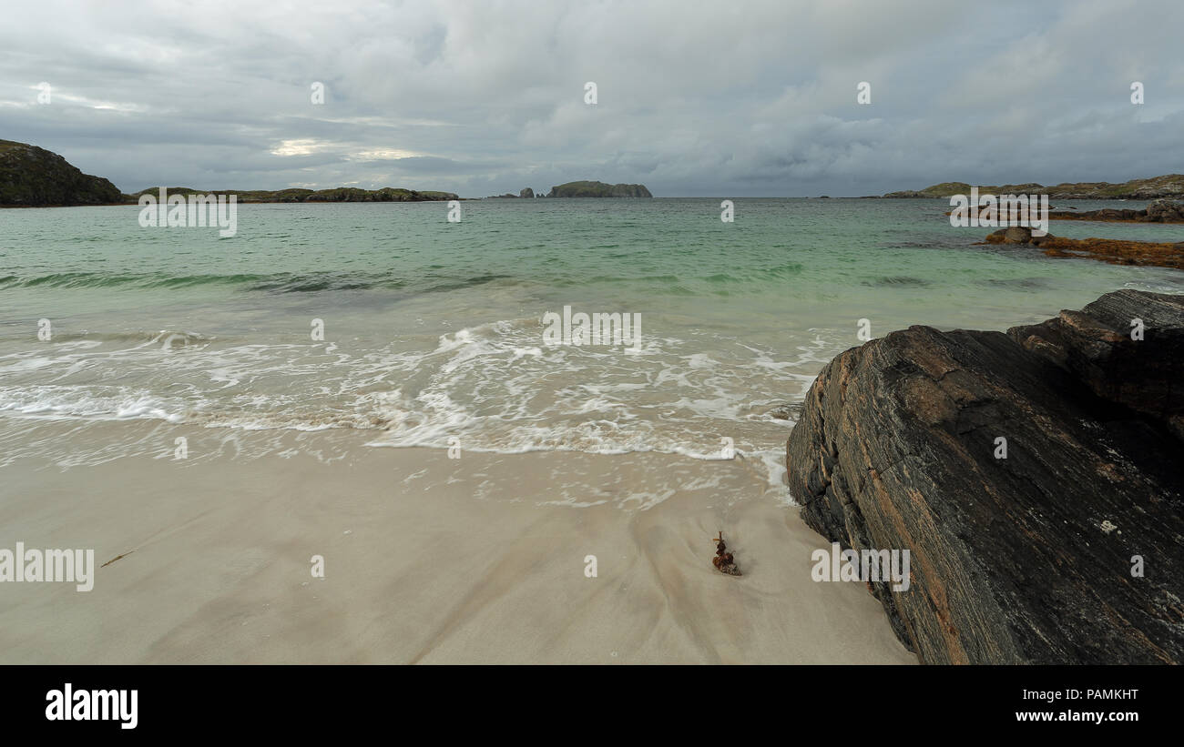 Traigh Bostadh – Bosta Beach, Great Bernera - Stock Image