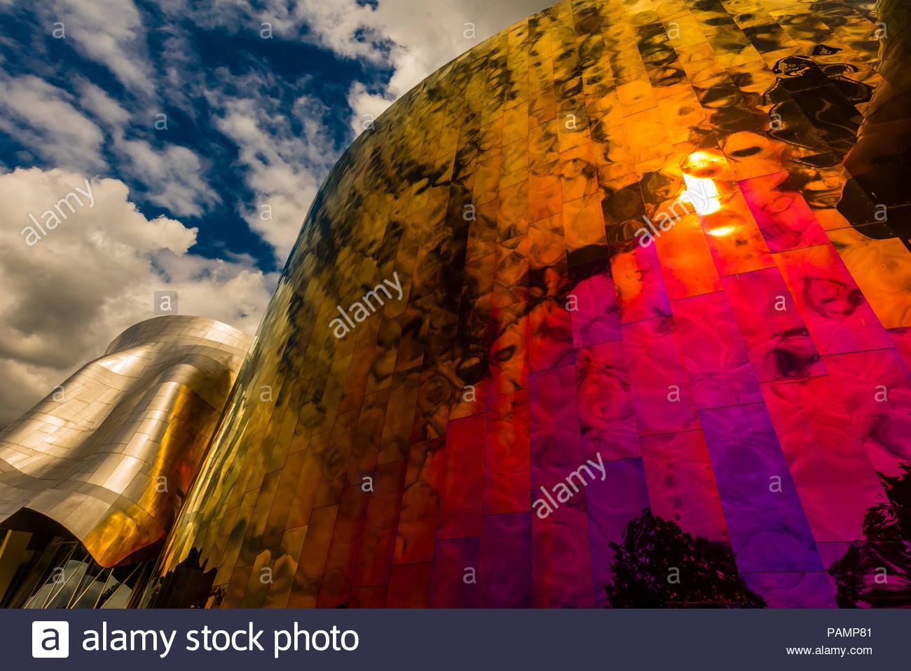 The Frank Gehry designed MoPop (Museum of Pop Culture
