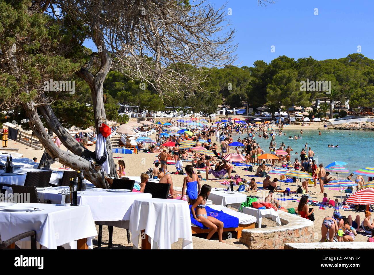 Cala Bassa Beach Club Stock Photos & Cala Bassa Beach Club