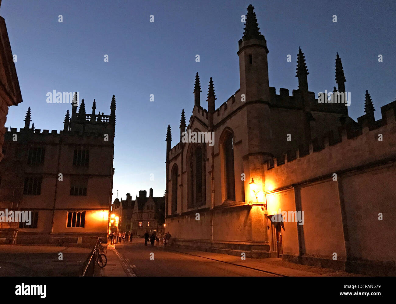 Oxford, Oxfordshire, South East England, Uk - Stock Image