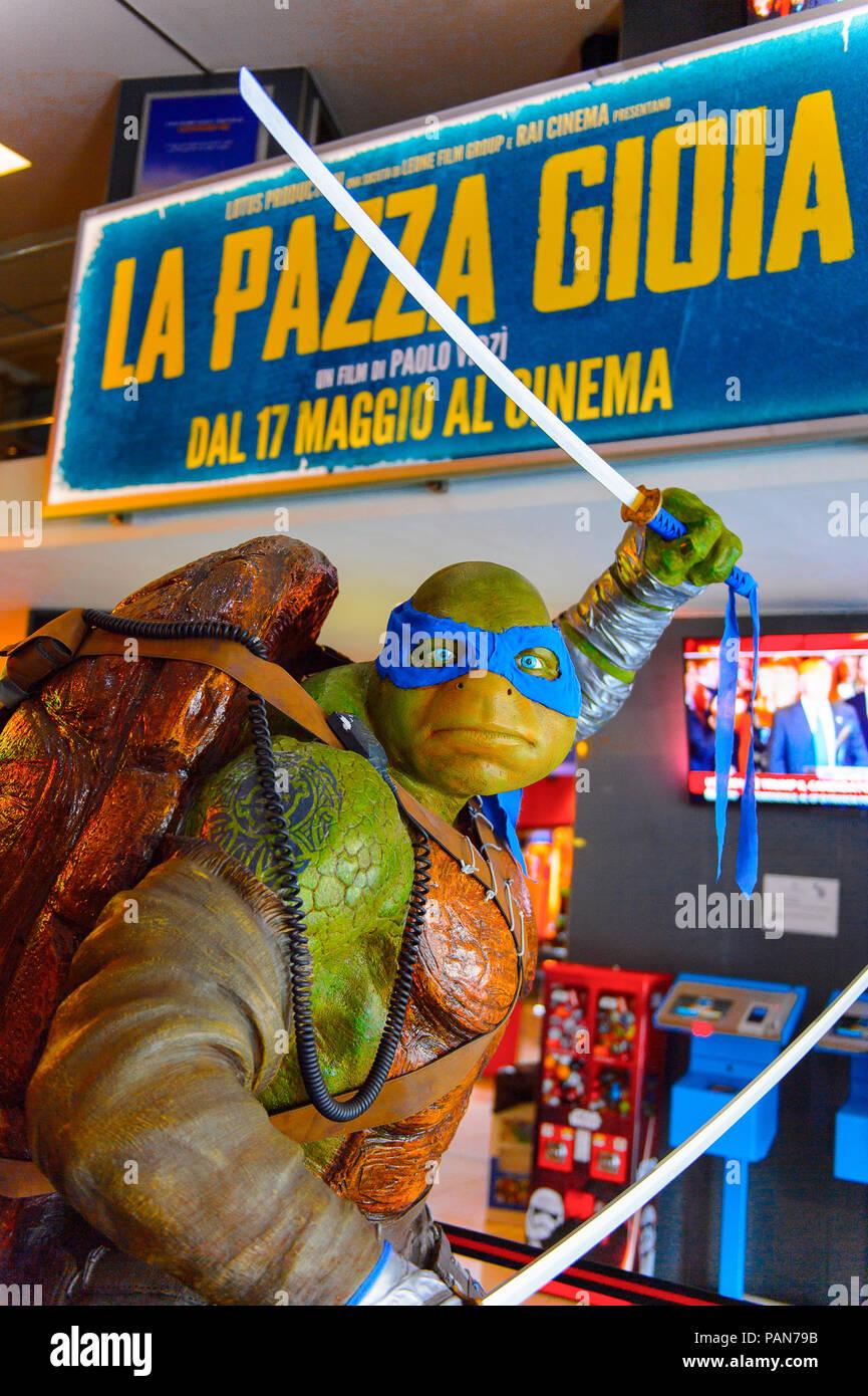 Teenage Mutant Ninja Turtles Leonardo High Resolution Stock