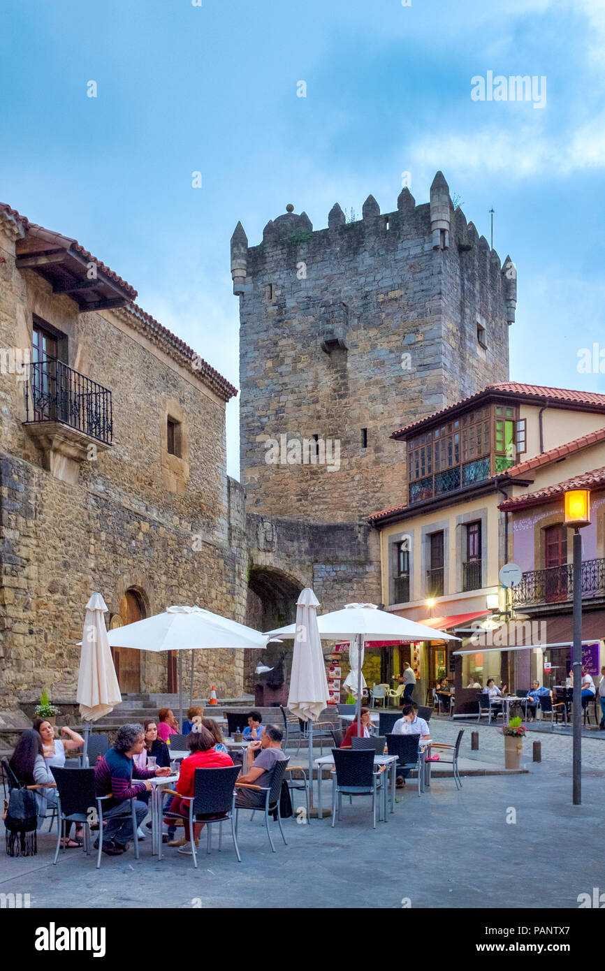 Castle of Salas, Salas, Asturias, Spain - Stock Image