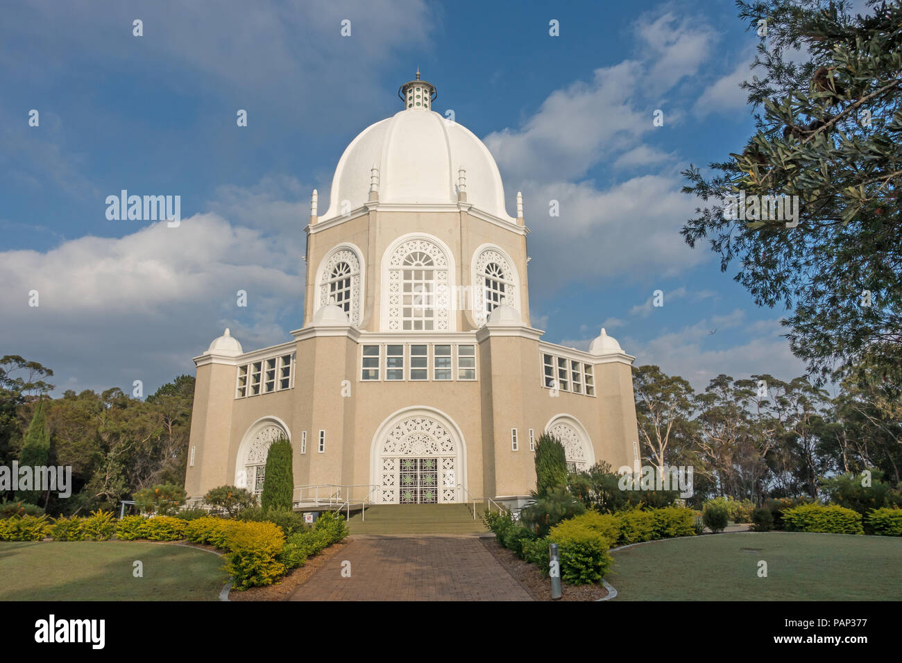 Baha'i Temple, House of Worship, Sydney Australia. - Stock Image