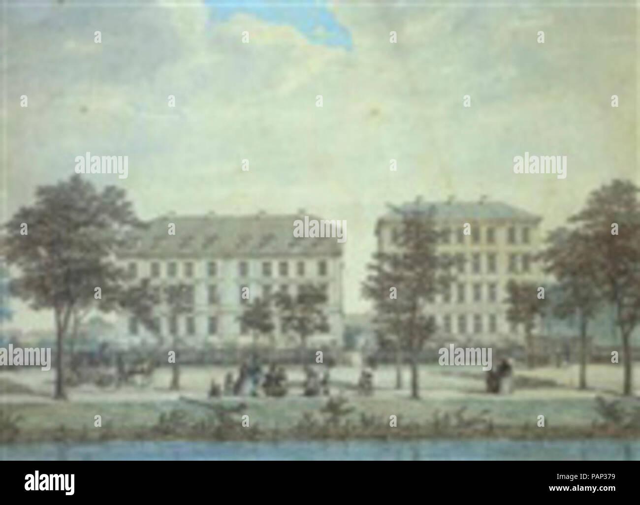 A Søerne. - Stock Image