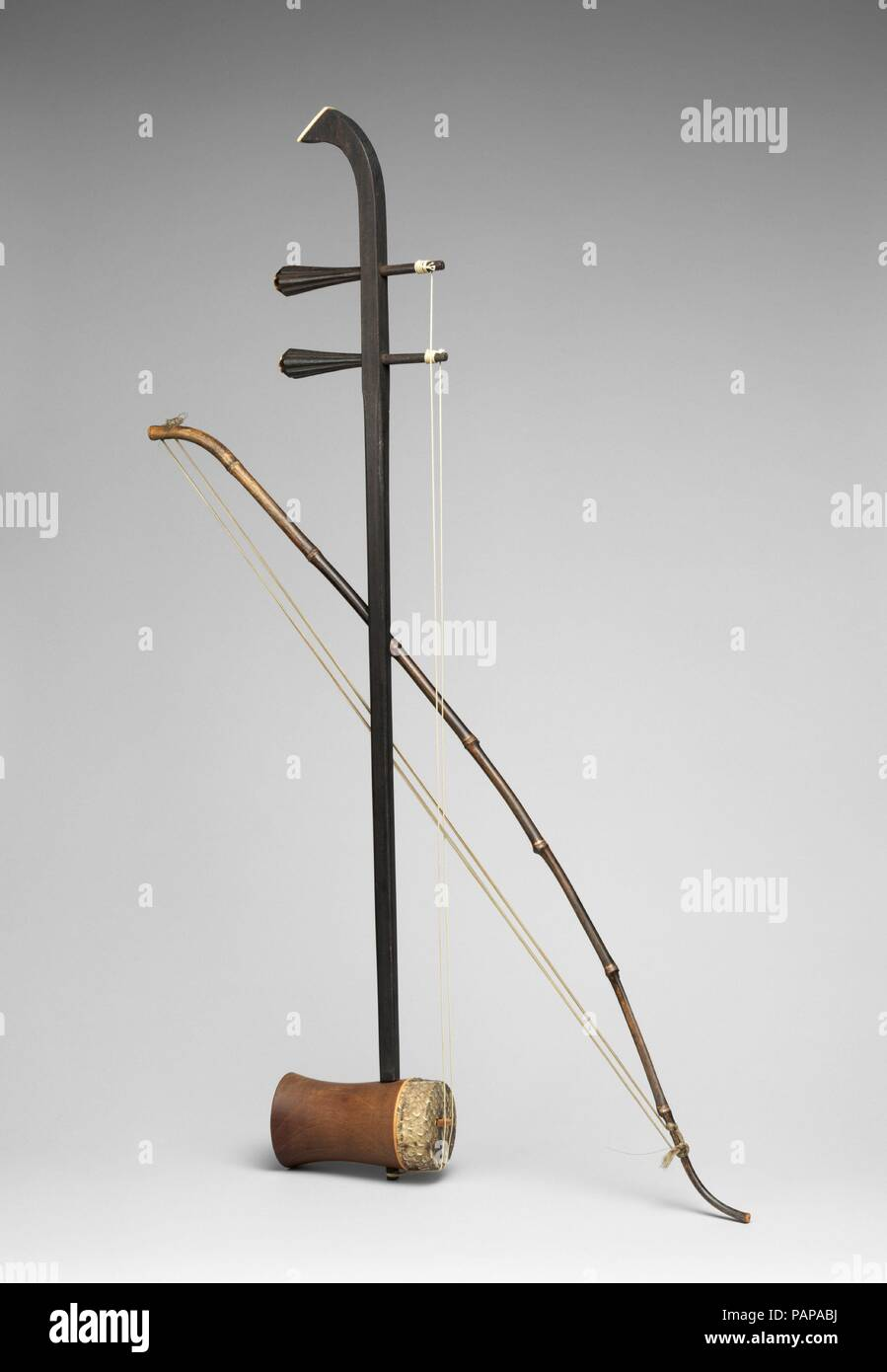 Erhu ( ?? )  Culture: Chinese  Dimensions: Height: 29 15/16