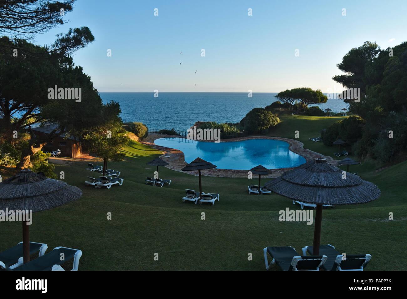 Prainha Club in Portimao. Algarve, Portugal - Stock Image