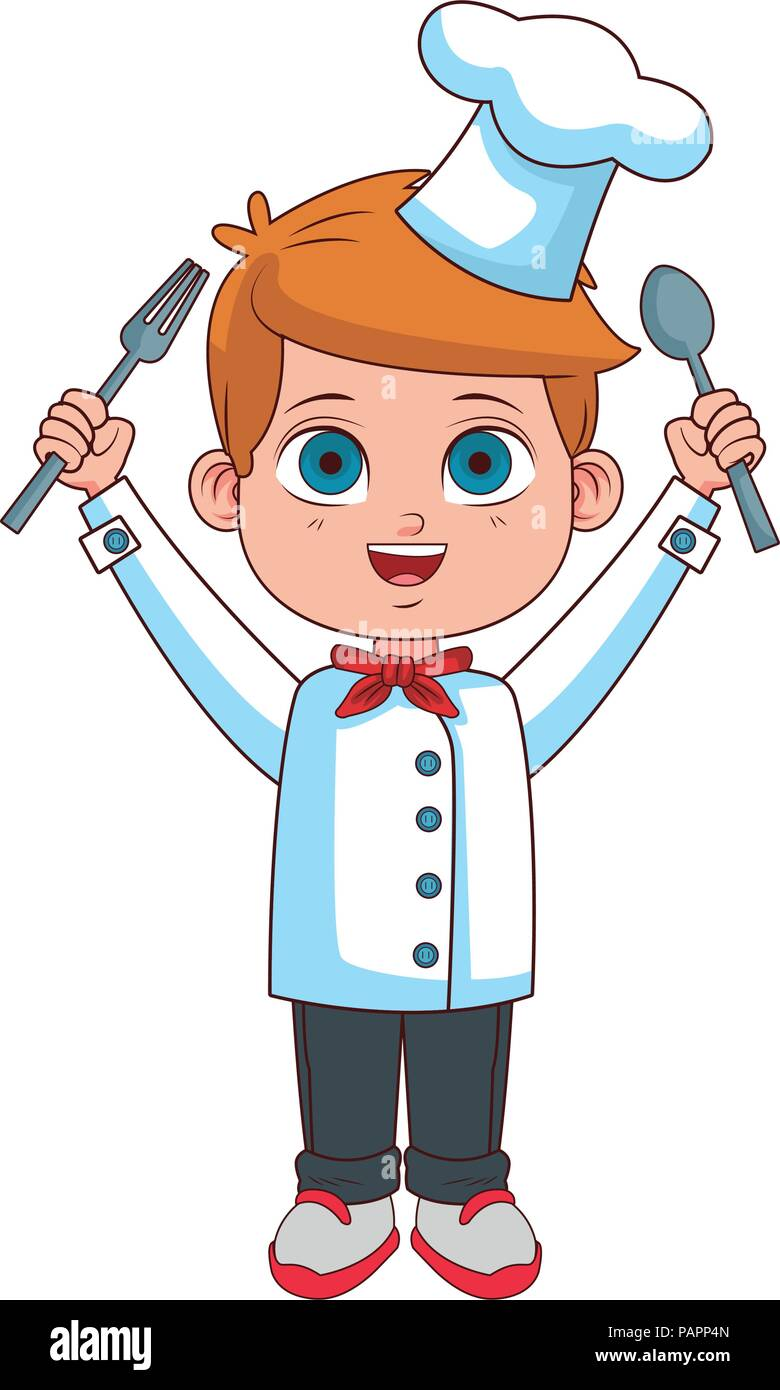Chef Cartoon High Resolution Stock Photography And Images Alamy