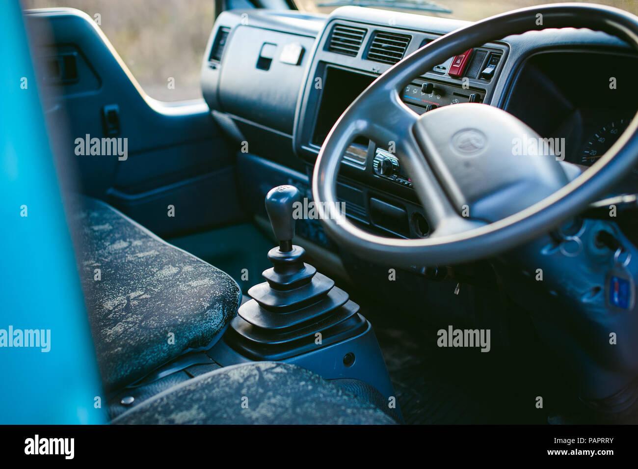 Semi Truck Interior Stock Photos & Semi Truck Interior Stock