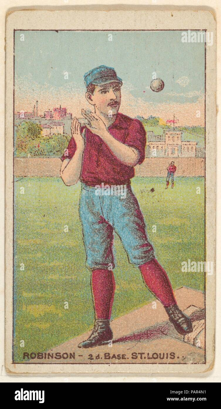 Robinson, 2nd Base, St  Louis, from the Gold Coin series (N284) for