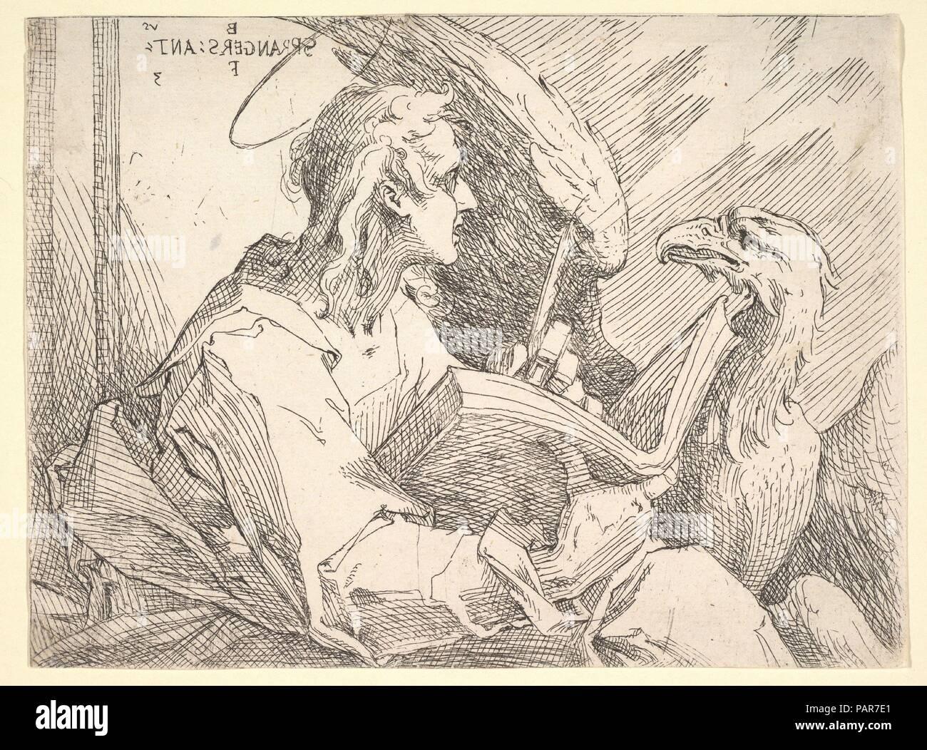 Saint John the Evangelist. Artist: Bartholomeus Spranger ...