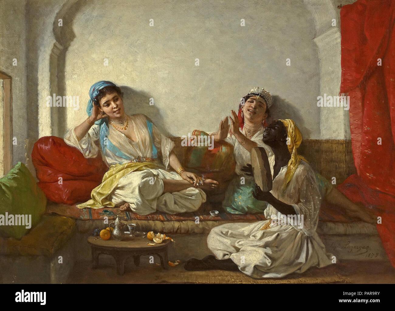 Lazerges  Hippolyte - Musical Interlude - Stock Image