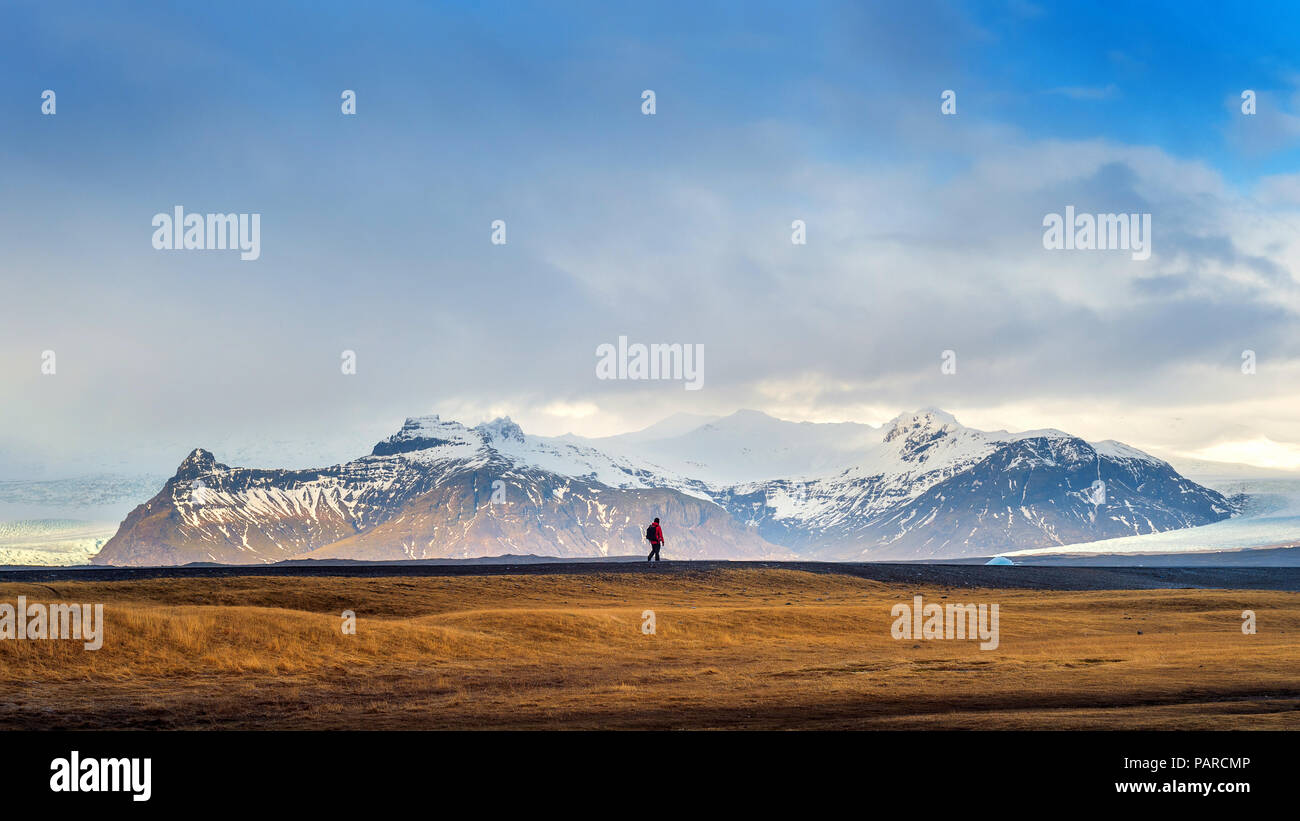 Beautiful landscape in Iceland. - Stock Image