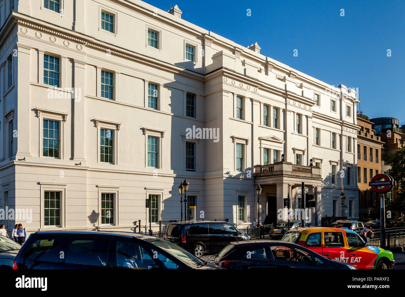 The Lanesborough Hotel, Hyde Park Corner, London, England - Stock Image