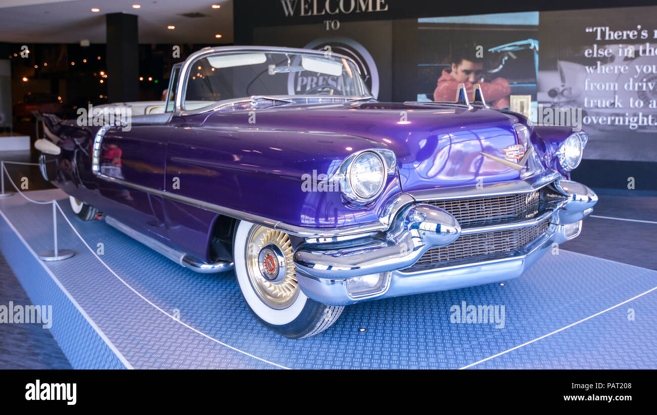 Cadillac Of Memphis >> Memphis Tn Usa Sept 21 2017 Elvis Presley S 1955