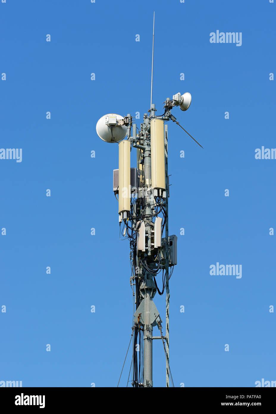 Mobile Phone Mast - Stock Image