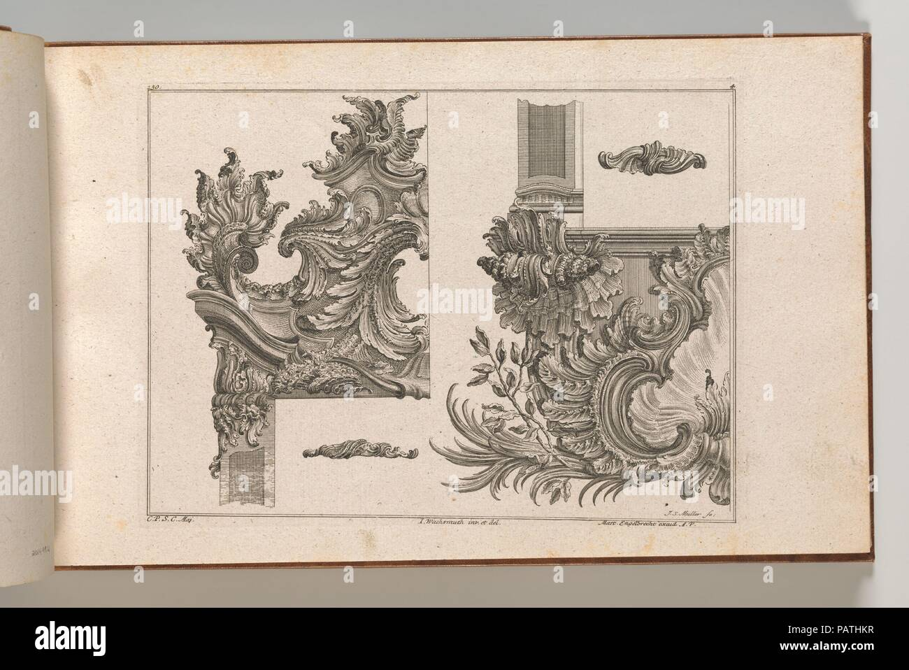 Suggestions for the Decoration of Frames, Plate 4 from \'Au?zierungen ...