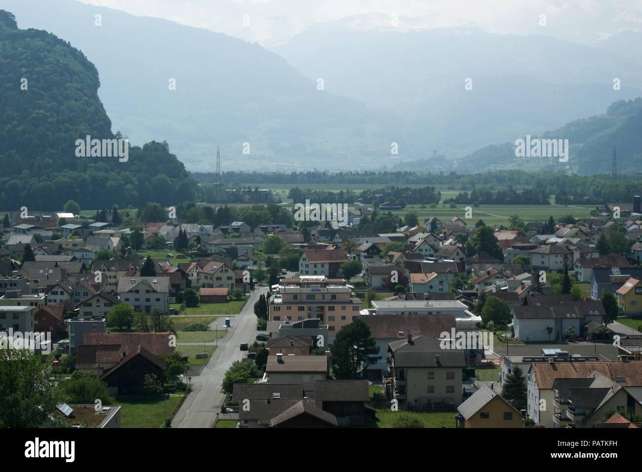 Around Liechtenstein Stock Photo