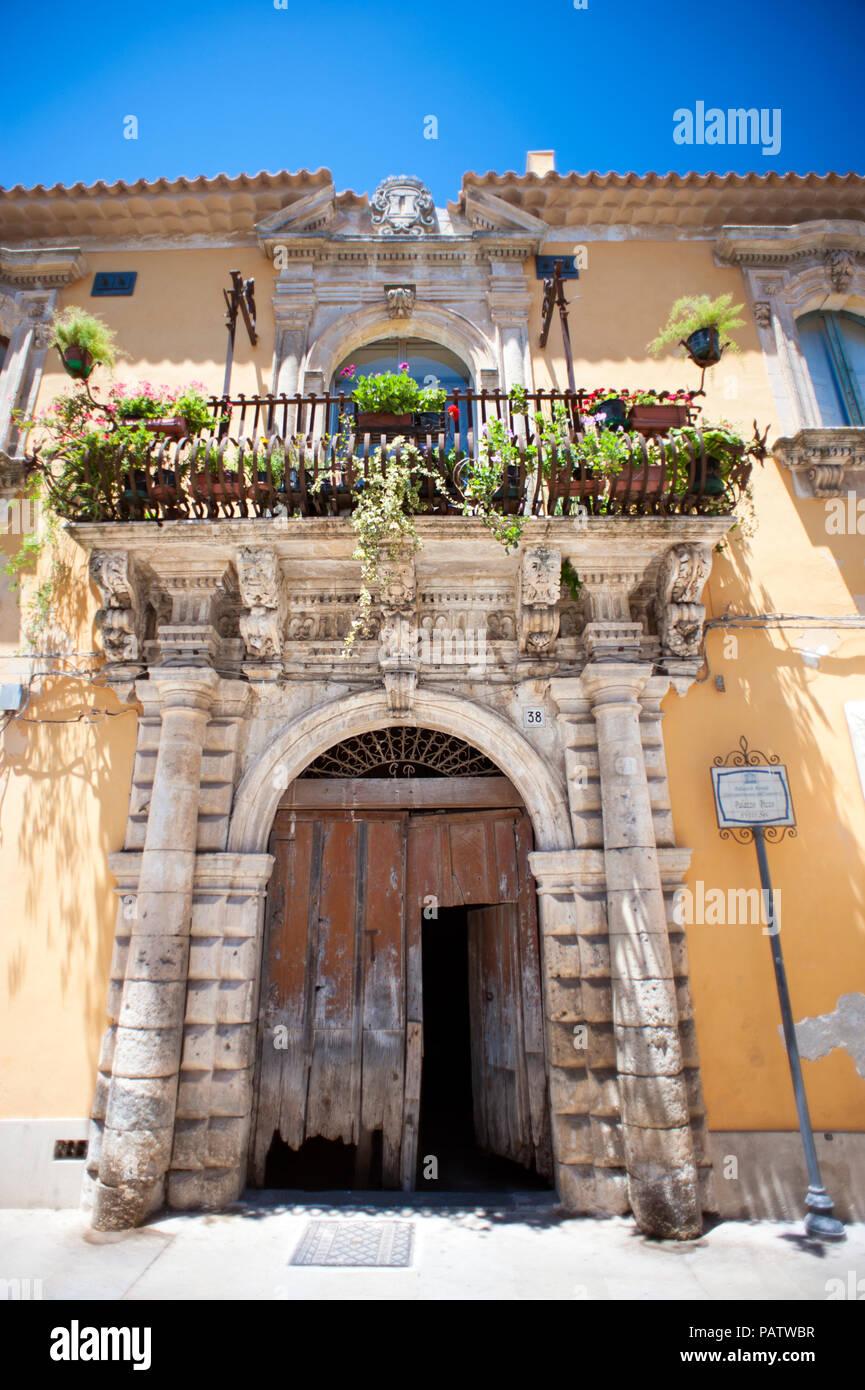 Baroque Doorway In Old Town Stock Photos & Baroque Doorway In Old