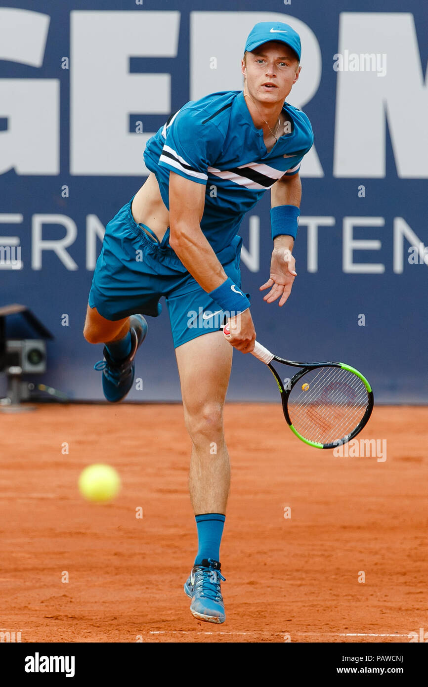 Young german tennis player Rudolf Molleker Stock Photo