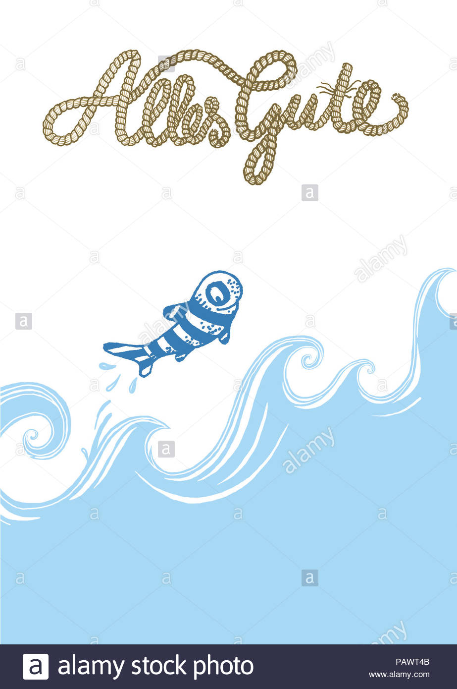 Fish All The Best Series Greeting Cards Stock Photo 213238715 Alamy