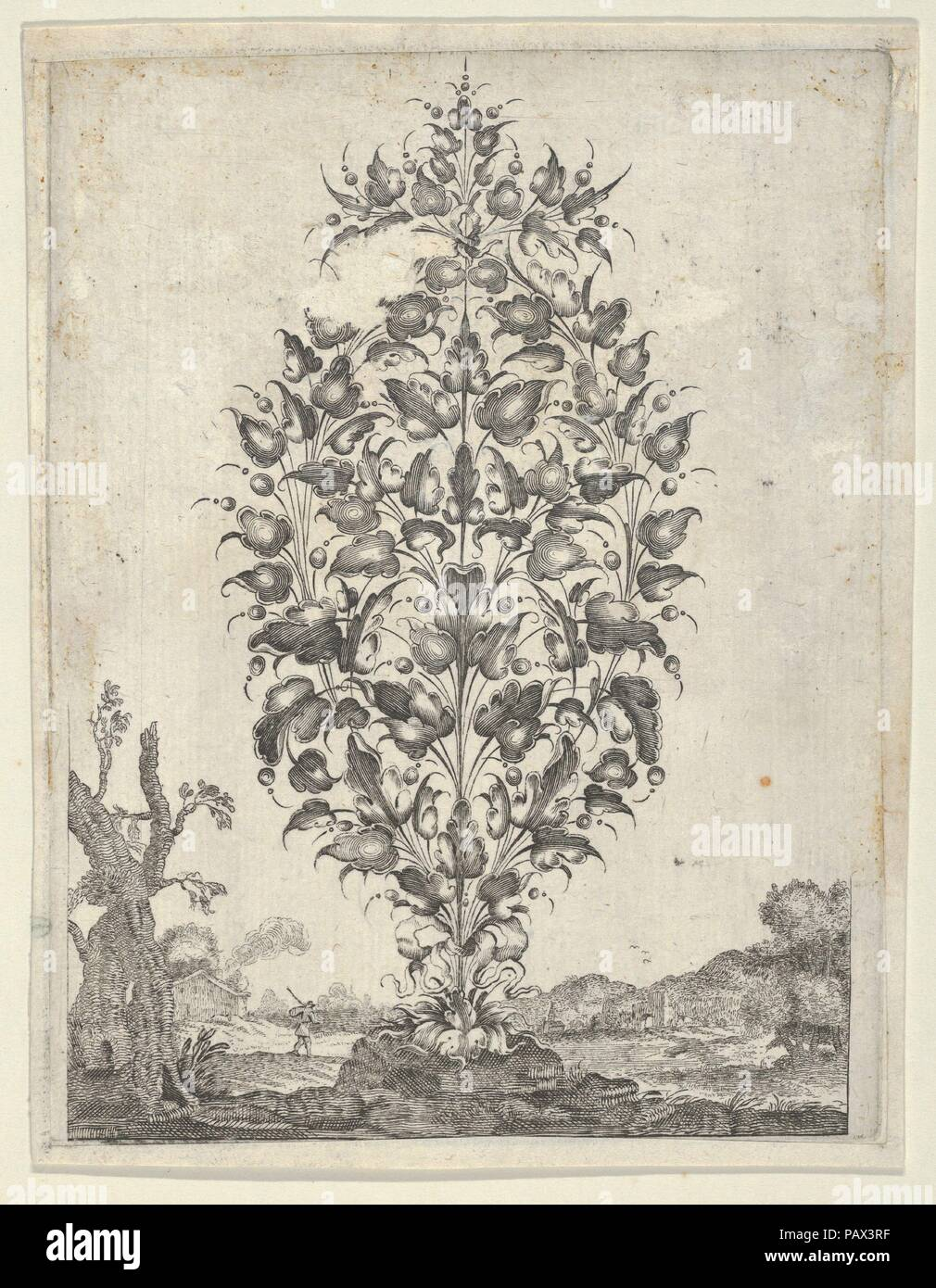 Goldsmith S Bouquet From Newes Lauberbuechlein Artist