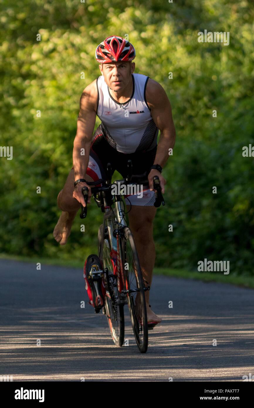 HVTC Summer Tri Series Race #2 - Stock Image