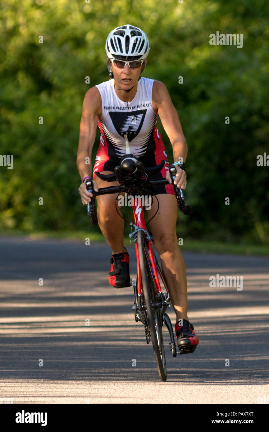 HVTC Summer Tri Series Race #2 - Stock Image