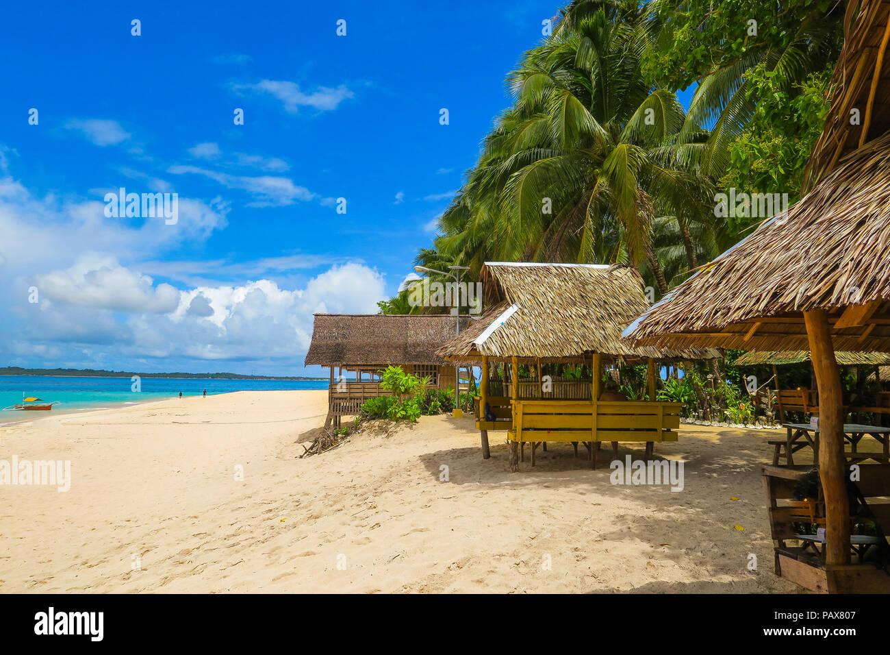 Tropical Island Beach Hut: Nipa Stock Photos & Nipa Stock Images
