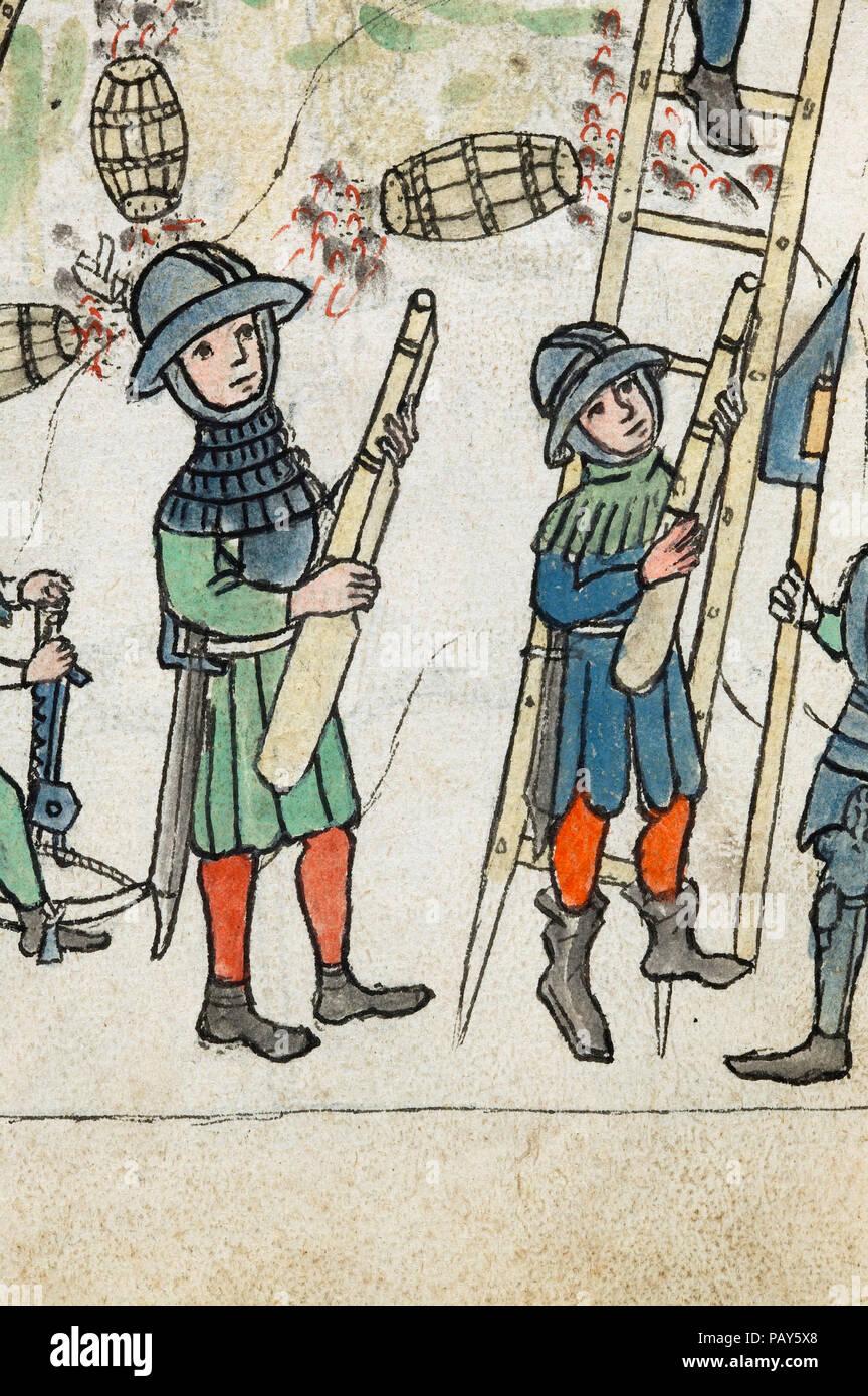 Feuerwerkbuch [Firework Book] - Stock Image