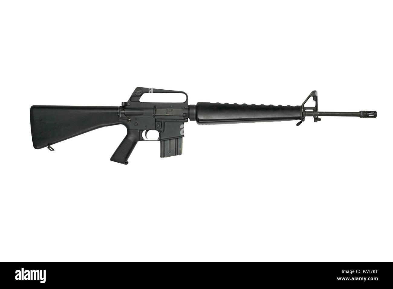 Colt Armalite M16A1 Rifle - Stock Image