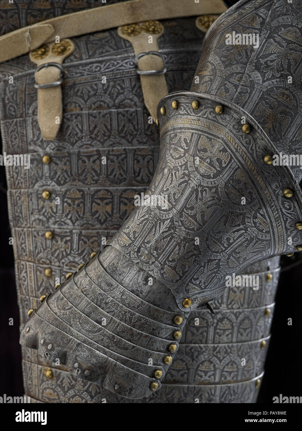 Demilance armour - Stock Image